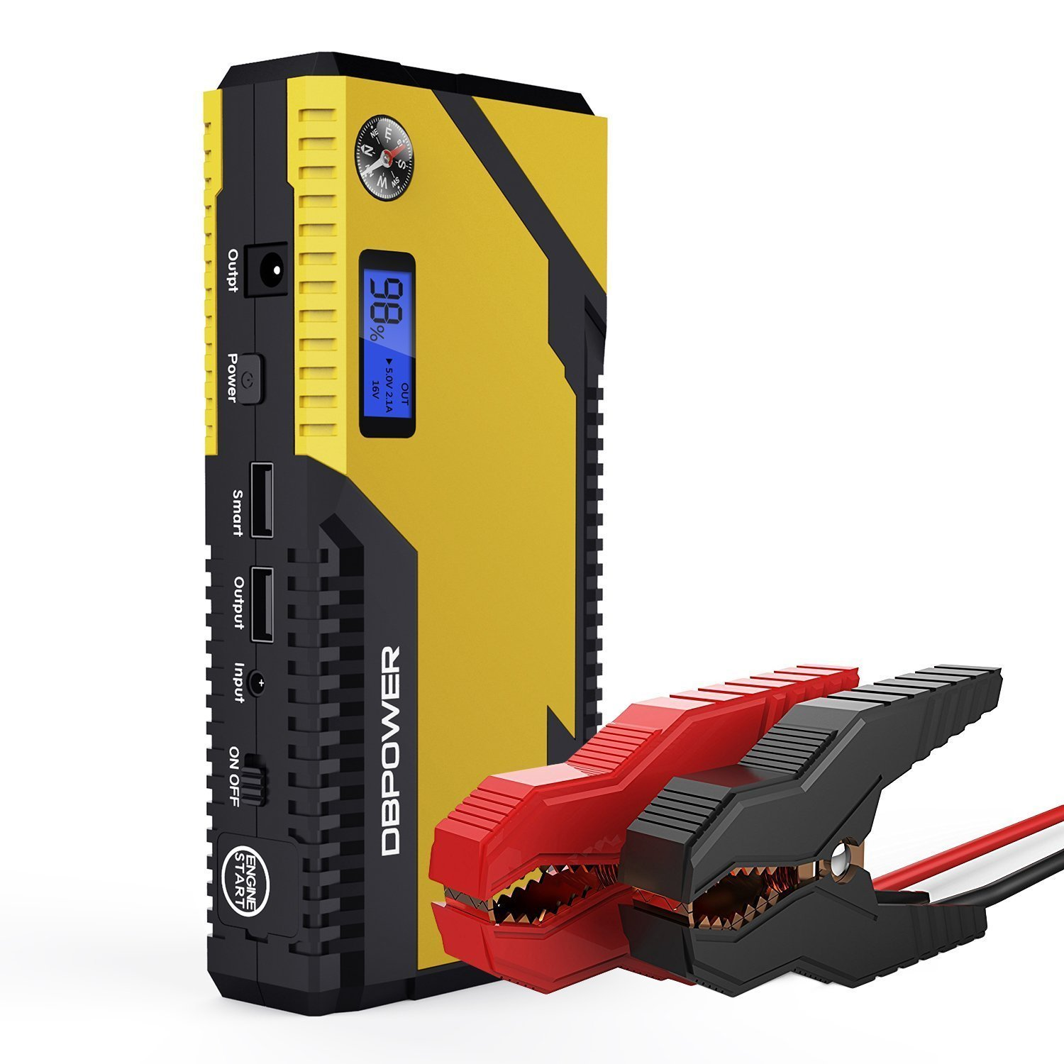 DBPOWER 400 A Peak 12000 mAh Portable Car Jump Starter