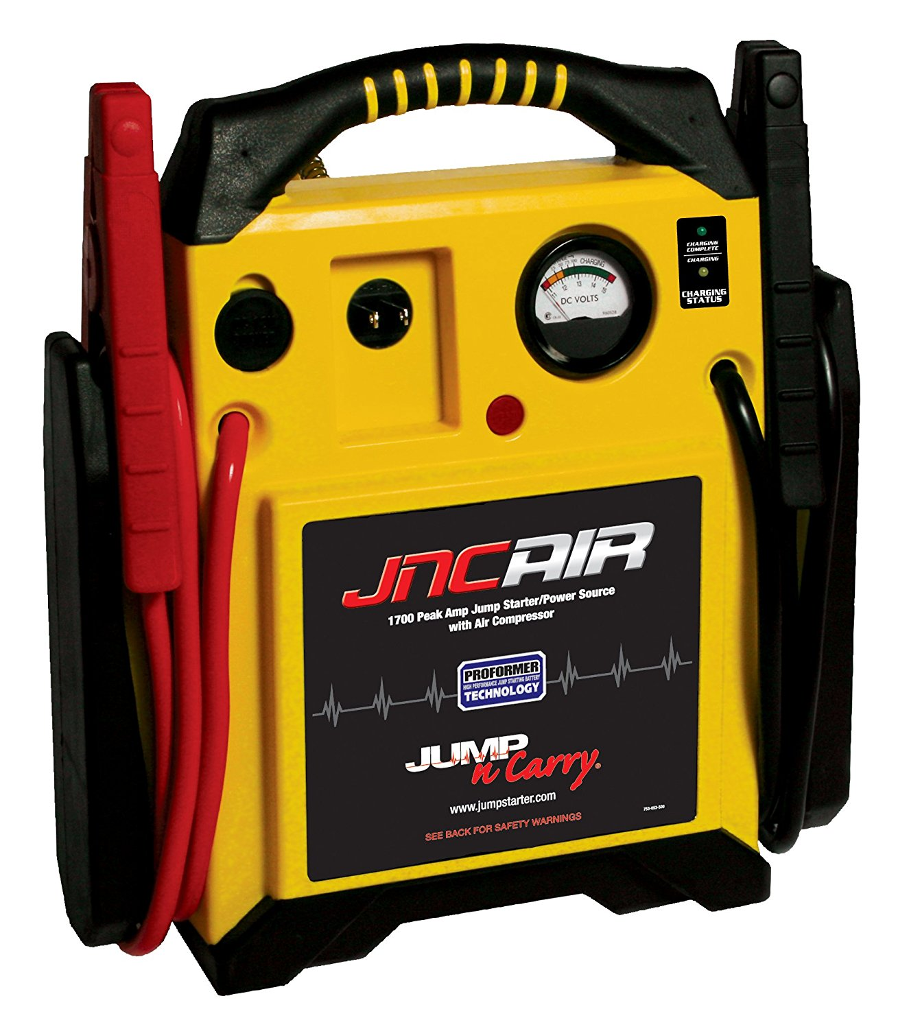 Jump-N-Carry JNCAIR with Power Source and Air Compressor