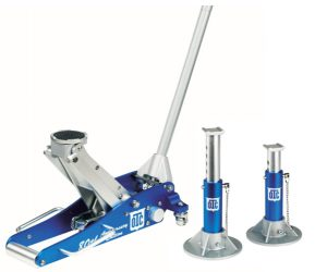OTC 1533 Aluminum Racing Jack Kit with 2-Ton Jack and Stands, 80th A