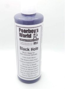Poorboy's World Black Hole Show Glaze for Dark Vehicles - 16 oz_ Aut