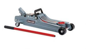 Pro-Lift F-767 Grey Low Profile Floor Jack - 2 Ton Capacity_ Automot