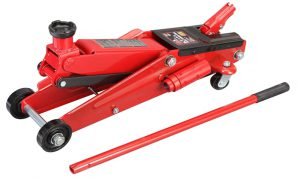 Torin Big Red Hydraulic Trolley Floor Jack_ SUV _ Extended Height, 3