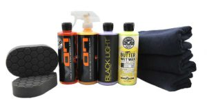 Chemical Guys HOL203 Black Car Care Kit (9 Items)_ Automotive