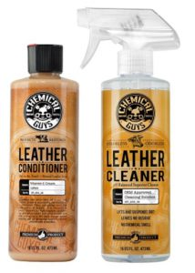Chemical Guys Leather Cleaner and Conditioner Complete Leather Care