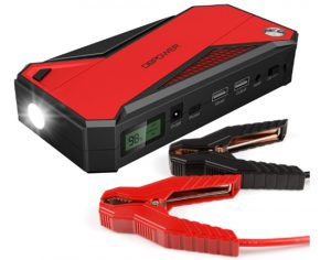 DBPOWER 600A Peak 18000mAh Portable Car Jump Starter (up to 6.5L Gas