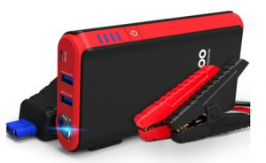GOOLOO Quick Charge in & Out, 500A Peak SuperSafe Car Jump Starter