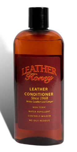 Leather Honey Leather Conditioner, 8 Oz Bottle. For Use On Leather Apparel, Furn