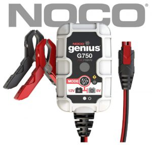 NOCO Genius G750 6V_12V 750mA Advanced Battery Trickle Charger Maint