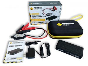 Rugged Geek RG1000 Safety GEN2 1000A Portable Car Jump Starter, Batt