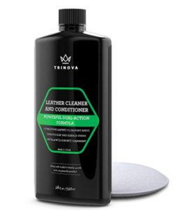 TriNova Leather Conditioner and Cleaner, 18 oz _ 540 ml_ Automotive