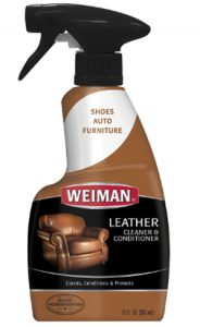 Weiman Leather Cleaner and Conditioner UV Protection Help Prevent Cr