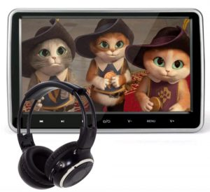 10.1 Inch HD Digital Multimedia Monitor Super-thin Car Headrest Dvd