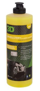 3D Upholstery & Carpet Shampoo - 16 oz _ High Foam Stain Remover _ C