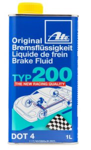ATE 706202 Original TYP 200 Racing Quality DOT 4 Brake Fluid - 1 Lit