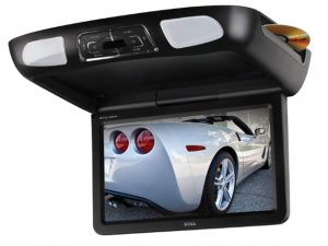 BOSS Audio BV12.1MCH 12.1 Inch Flip-Down Car Monitor, DVD_CD_MP3_USB