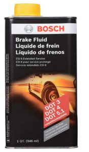 Bosch ESI6-32N Brake Fluid (Direct Replacement for DOT 3, DOT 4, and