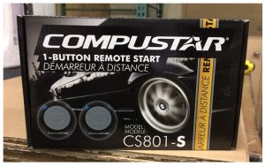 Compustar CS801-S 1 Button Remote Start Car Auto Starter (Replaced C