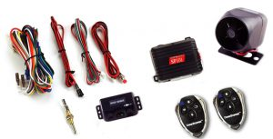 Crimestopper SP-101 Deluxe 1-Way Alarm and Keyless Entry System_ Aut