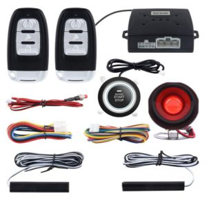 EASYGUARD EC003 Smart Key PKE Passive Keyless Entry Car Alarm System