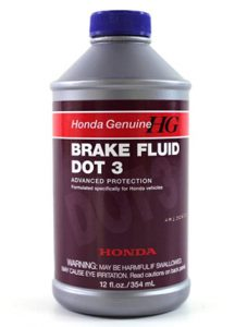 Honda Genuine Fluid 08798-9008 DOT 3 Brake Fluid - 12 oz._ Automotiv