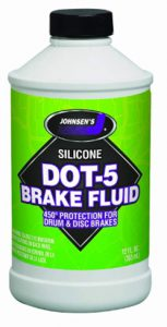 Johnsen's 7012-6 Silicone DOT-5 Brake Fluid - 12 oz._ Automotive
