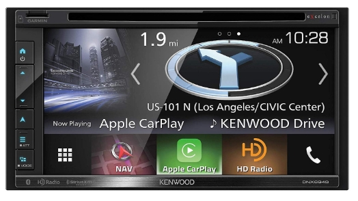 "Kenwood Excelon DNX694S In-Dash Navigation with 6.8"" Touchscreen Display"