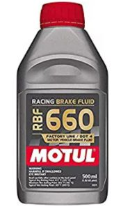 Motul Rbf 660 Dot-4 Racing Brake Fluid 500 mL_ Automotive