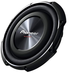 PIONEER TS-SW2502S4 10-Inch, 1.200 Watts Shallow-Mount Subwoofer_ Ce