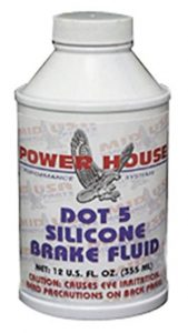 POWER HOUSE DOT 5 BRAKE FLUID FOR ALL MODELS_ Automotive