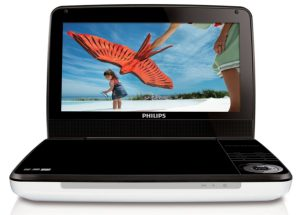 Philips PD9030_37 9-Inch Portable DVD Player (White_Black)_ Electron