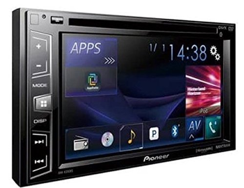 Pioneer AVH-X390BS Double Din Bluetooth in-Dash DVD_CD_Am_FM Car Sterio