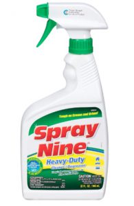 Spray Nine 26810 Heavy Duty Cleaner_Degreaser and Disinfectant, 32 o