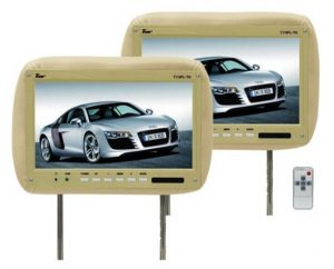 UEI T110PLTAN 11.2 in. Tan Car Headrest Widescreen Lcd Monitors with