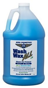 Aero Cosmetics Wet or Waterless Car Wash Wax 128 oz. Aircraft Qualit