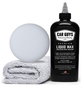 CarGuys Liquid Wax - The Ultimate Car Wax Shine with Polymer Paint S
