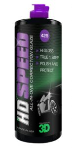 HD Speed All in One Polish_Wax - 16 oz. _ Clear Coat Car Polish and