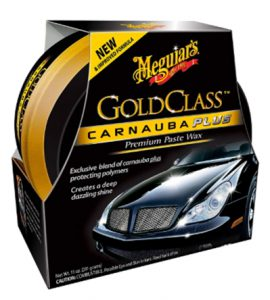 Meguiar's Gold Class Carnauba Plus Premium Paste Wax – Creates a Dee